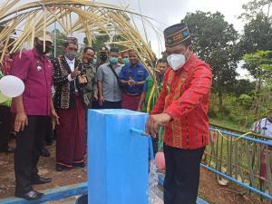 Pemerintah Bangun Fasilitas Jaringan Air Bersih Senilai Rp3,6 Miliar di Manggarai