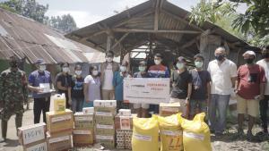 Ekspedisi Seroja Salurkan Bantuan Kepada Korban Bencana di Sumba